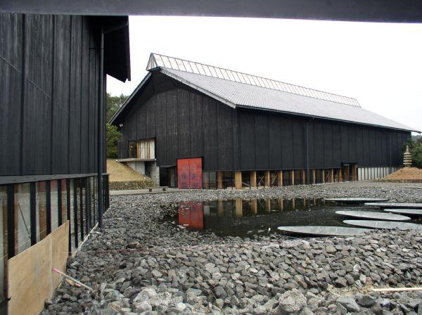 建築見学。「海の博物館」