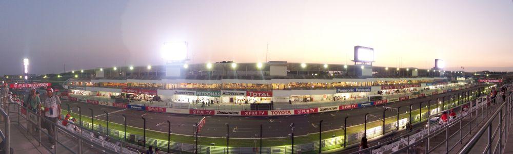 F1観戦。