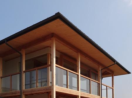 「深い軒のある家」 オープンハウス
