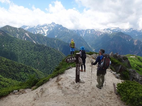 表銀座縦走② 燕山荘から大天井岳まで