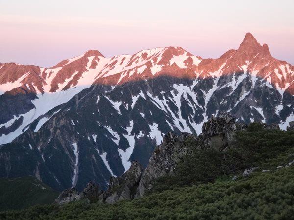表銀座縦走③ 大天荘からヒュッテ西岳まで