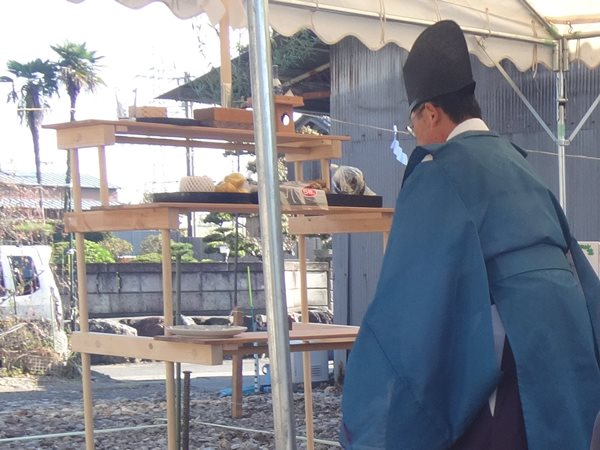 神戸町の家 地鎮祭