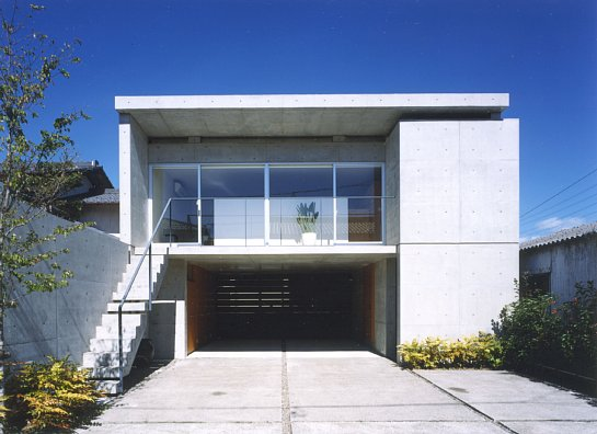 家の写真。「七郷の家」
