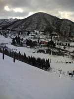 半休。スキー「揖斐高原貝月ゲレンデ」