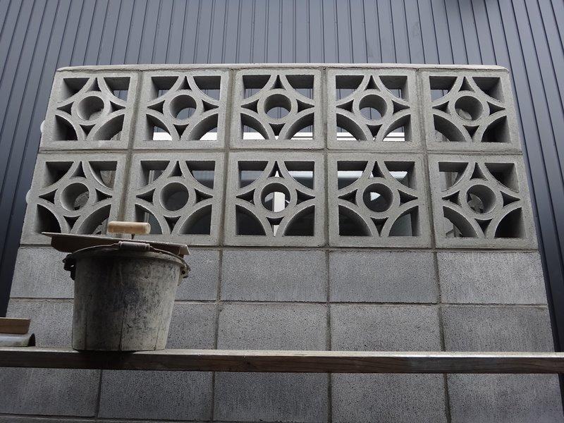 「神戸町の家」花ブロック