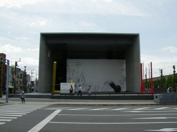 建築見学。四国 2002/5 丸亀市猪熊弦一郎現代美術館