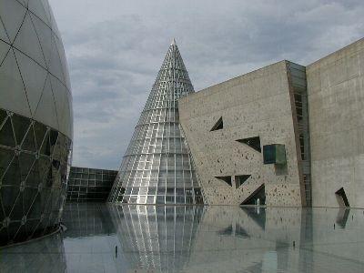 建築見学。四国 2002/5 愛媛県総合科学博物館