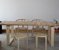 打ち合わせ用テーブル 「七郷の家」