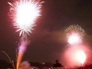 長良川 全国花火大会。