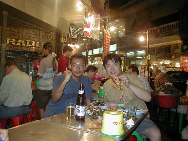 タイ バンコク チャイナタウン屋台で