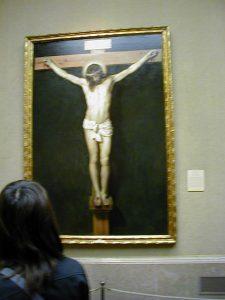 スペイン マドリード プラド美術館 キリストの磔刑