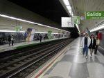 スペイン マドリード 地下鉄