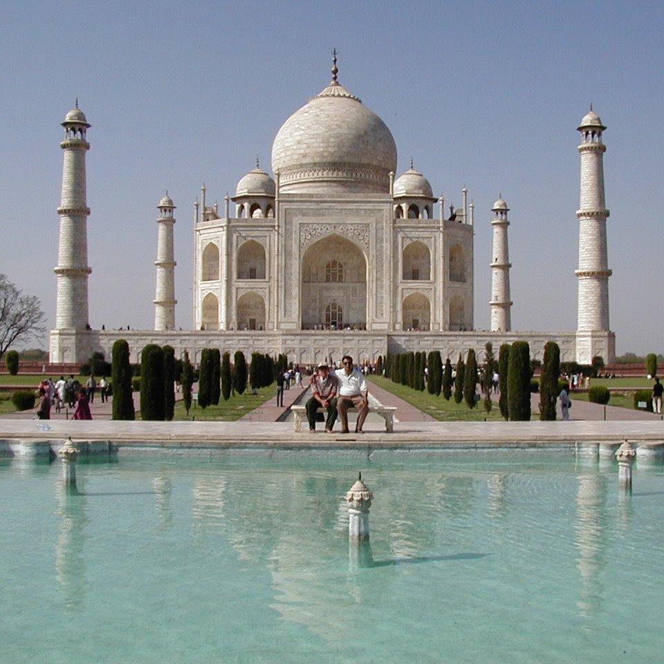 インド アーグラー タージマハル
