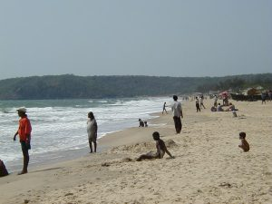 インド ゴア バガビーチ