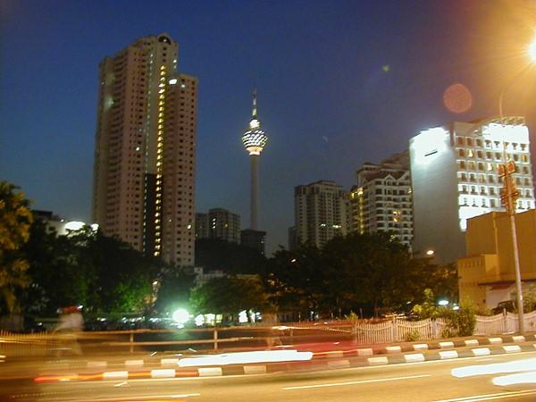 Kuala Lumpur その1 マレー半島ひとり旅
