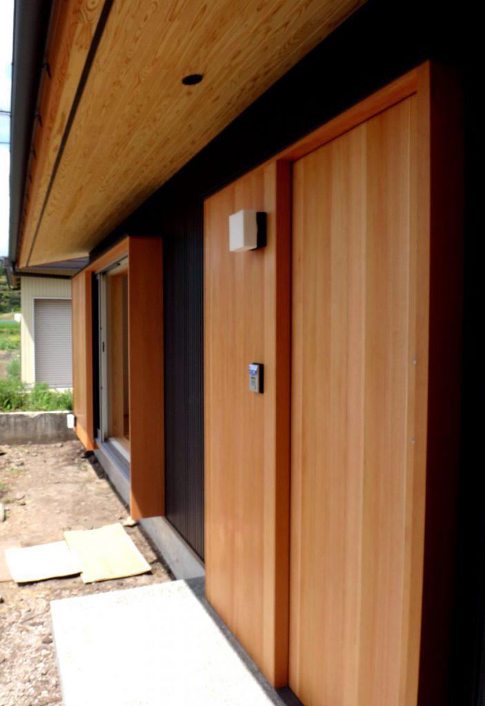 FrameWork設計事務所 畳リビングのある家 玄関