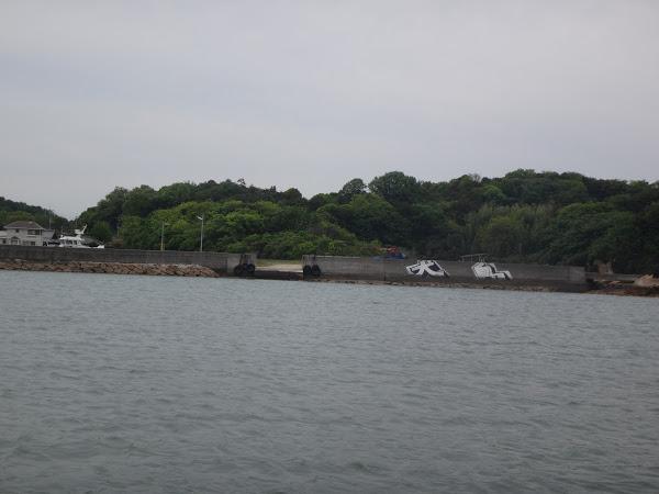 犬島 その1 犬島精錬所美術館と近代化産業遺産(ララも一緒)