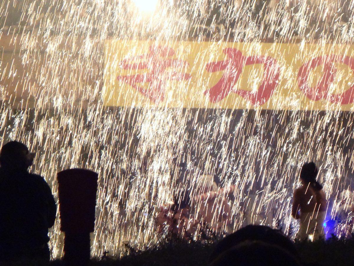 手力の火祭 長良川で楽しむもうひとつの花火