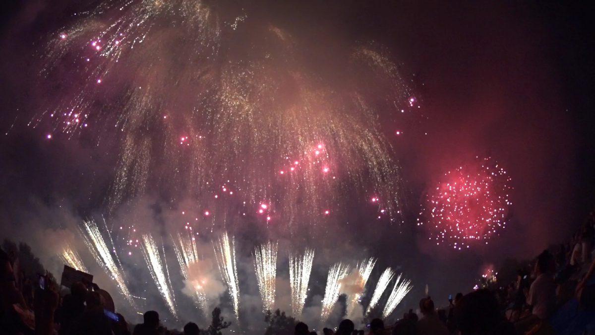 長良川花火を見るならやっぱり近くで
