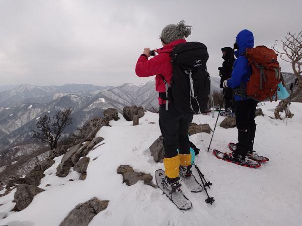 三重県 藤原岳 山頂