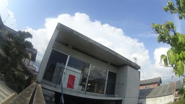 岐阜のFrameWork設計事務所の物件「七郷の家」 事務所と入道雲 積乱雲
