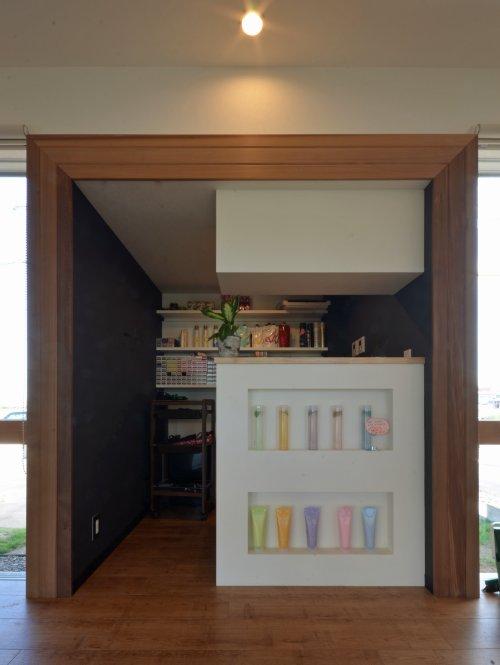 06 岐阜のFrameWork設計事務所の物件「美容室 Frank」 ラボ