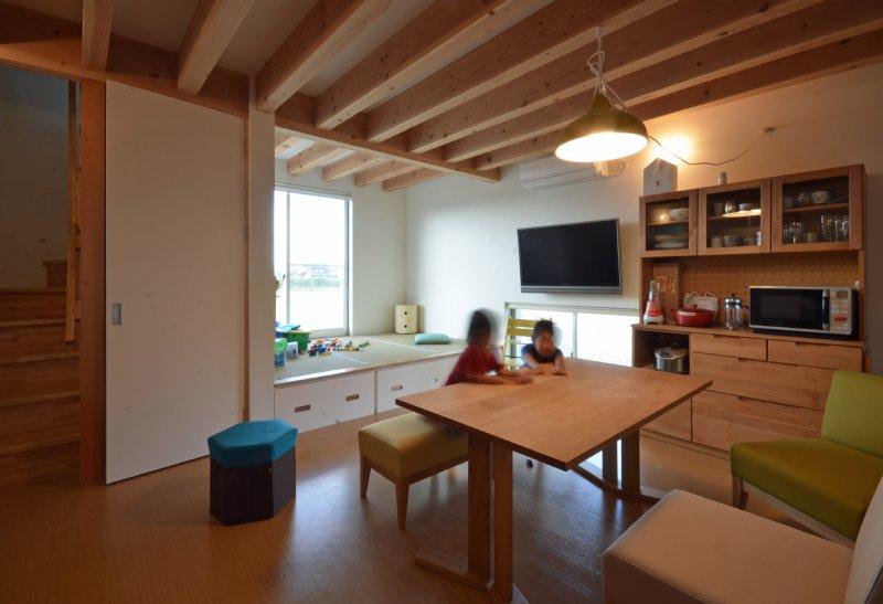 09 岐阜のFrameWork設計事務所の物件「美容室 Frank」 住居スペース