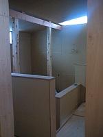 岐阜のFrameWork設計事務所の物件「大野町の家」 階段まわり 光が広がります