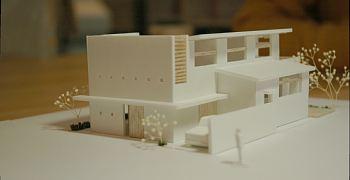 岐阜のFrameWork設計事務所の物件「上土居の家」 プレゼン模型