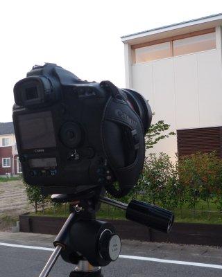 岐阜のFrameWork設計事務所の物件「西中島の家」 雑誌の取材のための撮影