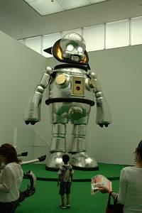 豊田市美術館で開催のヤノベケンジ「キンダガルテン」のジャイアント・トらやん