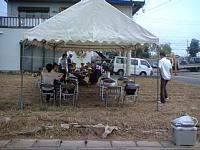 岐阜のFrameWork設計事務所の現場「西中島の家」の地鎮祭