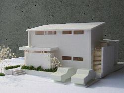 岐阜のFrameWork設計事務所の現場「大野町の家」の模型