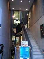 建築家 安藤忠雄の建築 栄のビル コンクリート打ち放しです