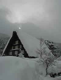 岐阜県の世界遺産白川郷へ 雪の合掌造り