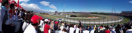 鈴鹿 F1日本グランプリ 第2コーナーで観戦