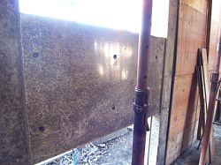 岐阜のFrameWork設計事務所の現場「各務原の家」 型枠を外した中から出てきやコンクリートはツヤツヤ~☆