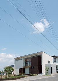 岐阜のFrameWork設計事務所の物件「西中島の家」の写真撮影はいい天気の中できました
