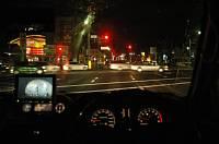 パジェロで最後のドライブ 運転席から