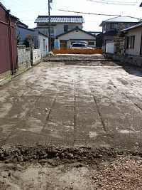 岐阜 七郷の家 建築家の家づくり 地盤改良