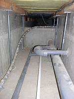 岐阜 FrameWork設計事務所 七郷の家 床下空間 配管
