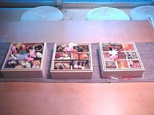 岐阜 FrameWork設計事務所 七郷の家 おせち 3重 豪華 美味しい 中身