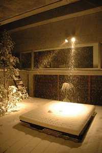 岐阜 FrameWork設計事務所 七郷の家 たくさん積もる雪 中庭